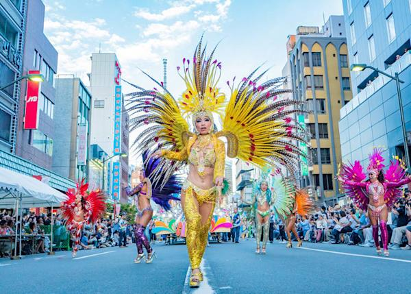 Photo provided by Asakusa Samba Carnival Executive Committee