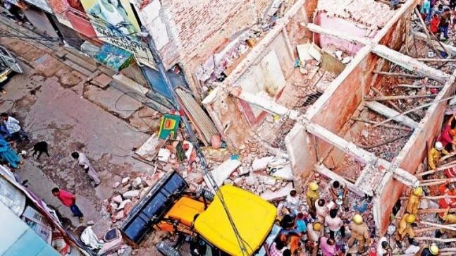 """No one ever objected about the construction of buildings that are made up of bad-quality material,"" said Abhay Kumar Srivastava, chief of Disaster Management Department of Haryana."