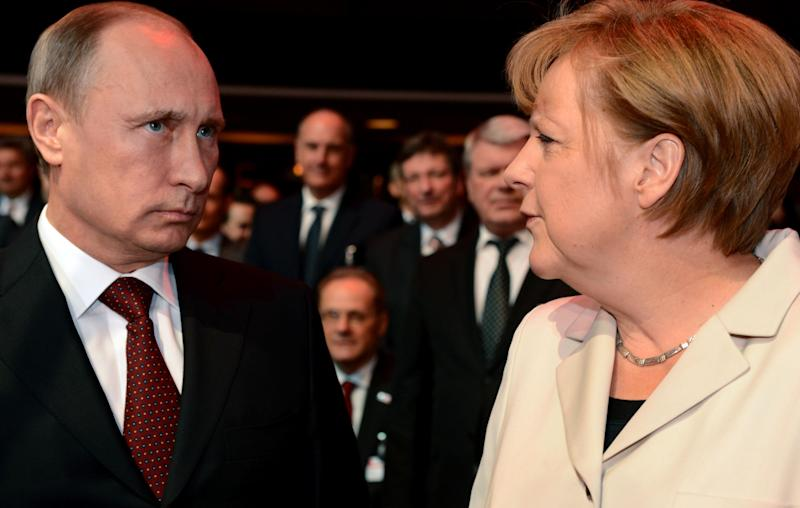Putin's visit to Germany clouded by disputes