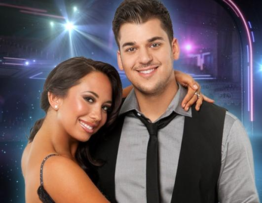 Reality TV star Robert Kardashian partners up with two-time champ Cheryl Burke, who is back for her twelfth season