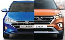 The new Elantra is a big car and is, in fact, longer than any other SUV at this price point, including its own sibling Creta. The new Elantra has a length of more than 4.6m.