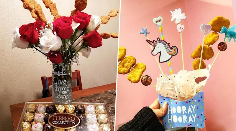 Valentine's Day 2020 Gifts: Chicken Nugget Bouquets Are Replacing Flowers And We Think Its a Perfect Gift For Foodies (View Delicious Pics)
