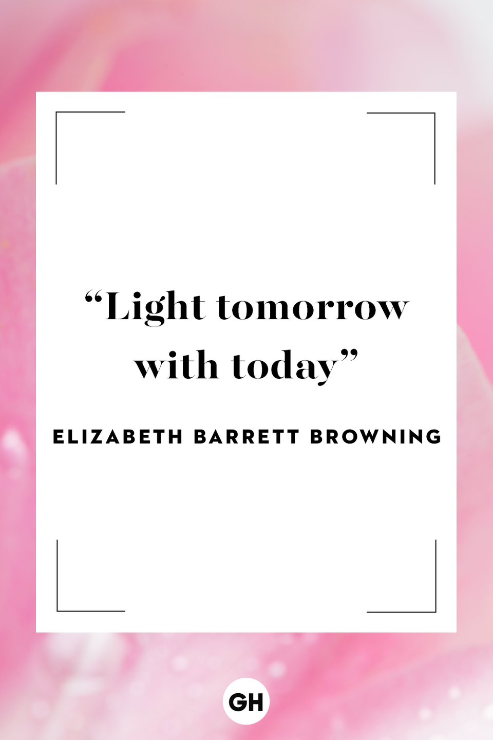 <p>Light tomorrow with today!</p>