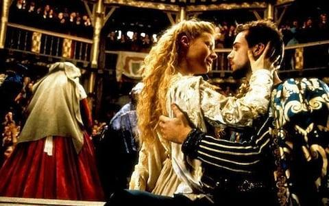 Gwyneth Paltrow and Joseph Fiennes