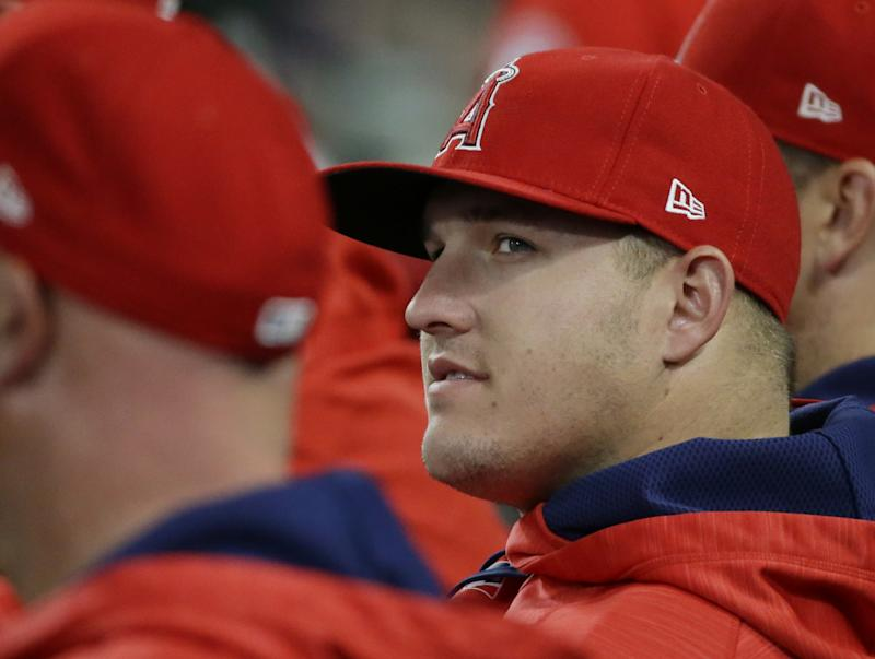 Mike Trout will be in NYC to face the Mets on Friday. (AP)