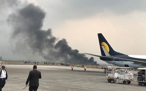 Bishnu Sapkota Bangladesh passenger aircraft 'became unstable' while descending  - Credit: Bishnu Sapkota