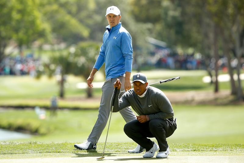 Tiger Woods surges up Players leaderboard