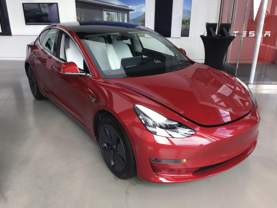 NOVEMBER 17th 2020: Tesla, Inc. will join the S&P 500 stock market index effective prior to trading on Monday, December 21, 2020. - File Photo by: zz/STRF/STAR MAX/IPx 2020 8/14/20 The Tesla Automobile dealership in Downtown Manhattan, New York City. (NYC)