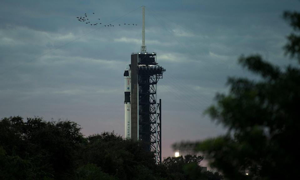 <p>If accomplished, the mission would be the first lunar journey by humans since 1972.</p> (AP)