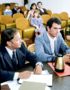 <p><b>Aired:</b> November 28, 1982 on NBC<br><b>Stars:</b> Tommy Lee Jones, Christine Lahti, Rosanna Arquette, and Grace Zabriskie<br><br><b>Ripped from the headlines about:</b> Murderer Gary Gilmore (Emmy winner Jones), who fought for his right to die after getting the death sentence for the back-to-back 1976 killings of a gas station employee and a motel manager. Based on Norman Mailer's 1979 Pulitzer Prize-winning novel of the same name about Gilmore's case, the movie also covers Gilmore's suicide attempts after the ACLU wins stays against his execution, and Gilmore's ultimate death, by firing squad, in January 1977. Gilmore's younger brother, Mikal, is an award-winning <i>Rolling Stone</i> writer whose 1994 memoir, <i>Shot in the Heart</i>, details his complicated family and his relationship with his brother. Mikal's book was also adapted as a 2001 HBO movie, starring Giovanni Ribisi as Mikal and Elis Koteas as Gary.<br><br><i>(Credit: Everett Collection)</i> </p>