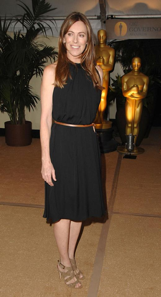 "<a href=""http://movies.yahoo.com/movie/contributor/1800091098"">Kathryn Bigelow</a> at the Academy of Motion Picture Arts and Sciences' Inaugural Governors Awards - 11/14/2009"