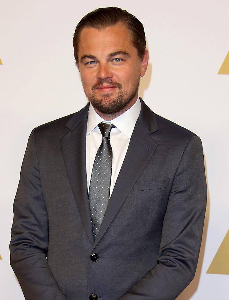 <p>Sixth time's the charm for this year's Best Actor favorite (<i>The Revenant</i>)? He's missed four times as an actor (<i>What's Eating Gilbert Grape</i>, <i>The Aviator</i>, <i>Blood Diamond</i>, <i>The Wolf of Wall Street</i>), and as producer for Best Picture contender <i>Wolf</i>. (WireImage)</p>