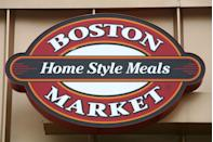"""<p>Holidays are <a href=""""https://bostonmarket.com/holiday-meal-catering-and-delivery/heat-serve-to-go/"""" rel=""""nofollow noopener"""" target=""""_blank"""" data-ylk=""""slk:Boston Market"""" class=""""link rapid-noclick-resp"""">Boston Market</a>'s speciality and this year, they're making it even easier for you to get your grub on. While you can dine at select participating locations, Boston Market also has order pick-ups and meal deliveries available. <a href=""""https://www.bostonmarket.com/open-christmas/"""" rel=""""nofollow noopener"""" target=""""_blank"""" data-ylk=""""slk:Choose from a smorgasbord of à la carte options"""" class=""""link rapid-noclick-resp"""">Choose from a smorgasbord of à la carte options</a> or go for the whole feast (with an option of prime rib, turkey, or ham). If you place your order early enough, they'll even deliver to your house — what a Christmas miracle! </p>"""