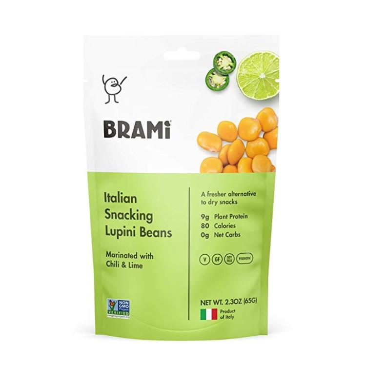 BRAMI Lupini Beans Snack. (Photo: Amazon)