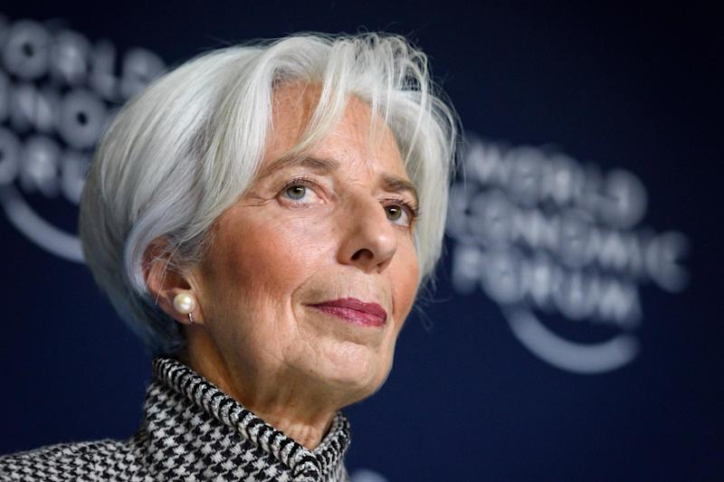 Ms Lagarde has spoken about gender equality between staff: AFP/Getty