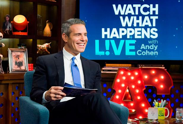 Andy Cohen Tests Positive for Coronavirus, Cancels Return of 'WWHL'
