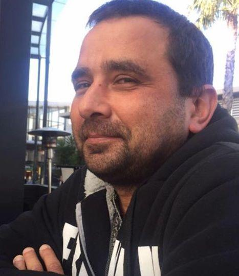 Pictured is Michael Mammone, the 47-year-old man who was found dead at the Donnelly Reserve car park on Lesdon Avenue in Cranbourne.