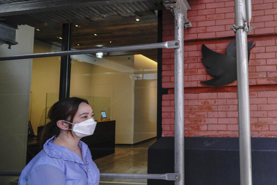 Photo by: John Nacion/STAR MAX/IPx 2021 7/30/21 Twitter closes New York Office due to COVID spike. STAR MAX File Photo: 7/30/20 Twitter office on West 17th Street in Manhattan.