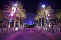 Expo is being held on a large site in the Dubai suburbs (AFP/Karim SAHIB)