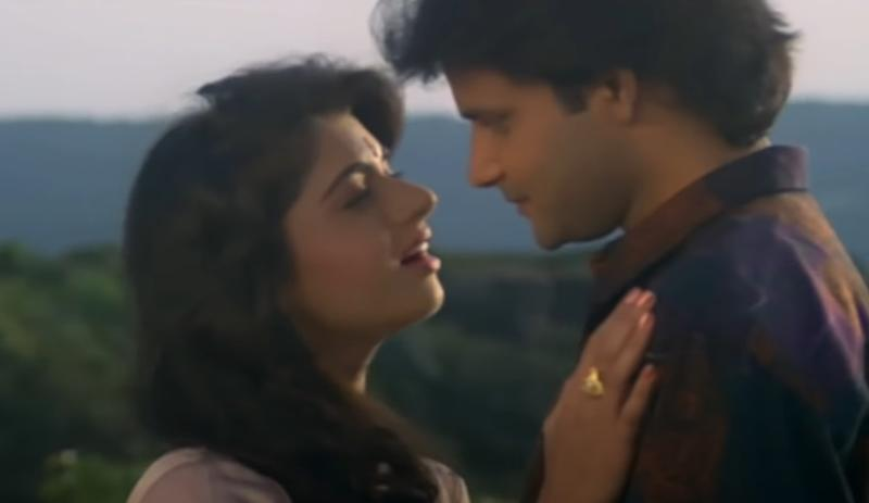 Bhagyashree and Himalaya in 'Paayel'