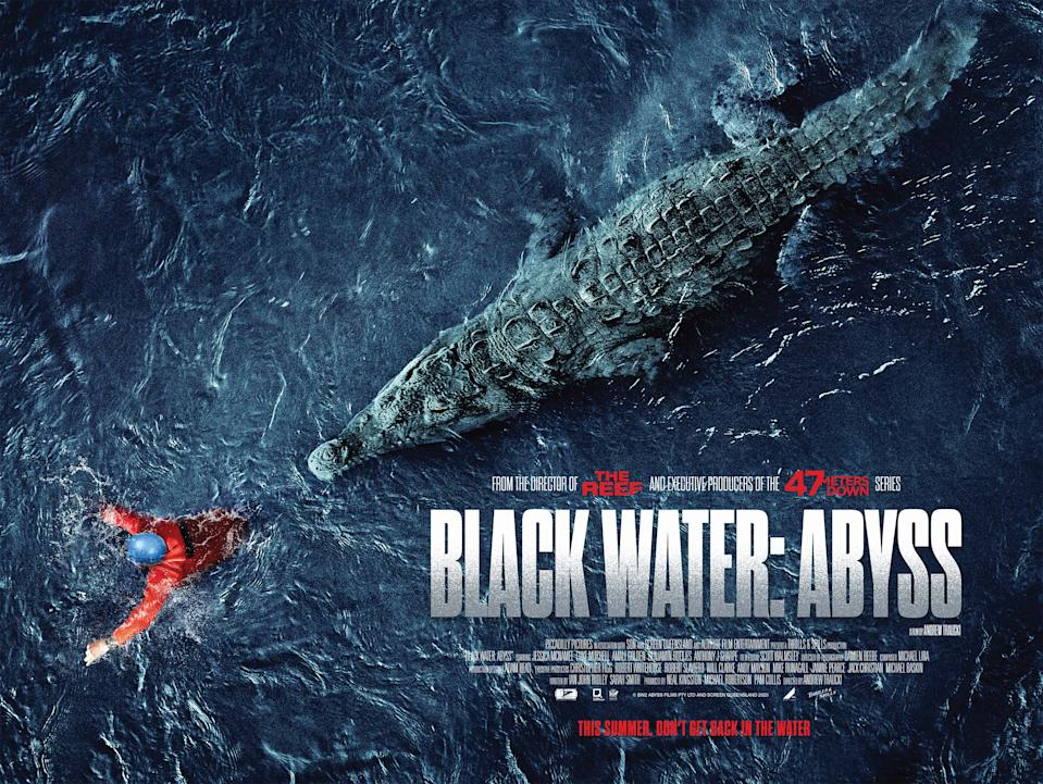 The UK poster for Black Water: Abyss. (Altitude)