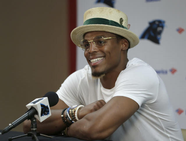 Though some disagree, Dalton believes Cam Newton is quite fashionable at his current ADP. (AP)