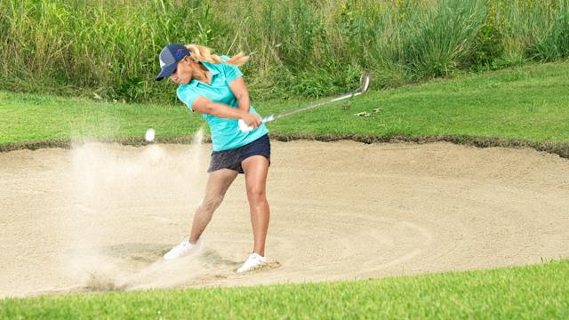Make your sand play seem easy—like Danielle Kang does it