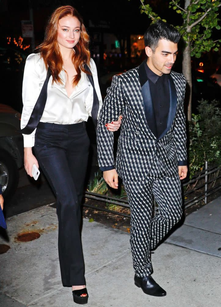Sophie Turner and Joe Jonas (November 2017)