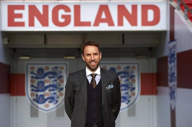 England's new manager Gareth Southgate was awarded a four-year contract in November 2016 (AFP Photo/Niklas Halle'n)