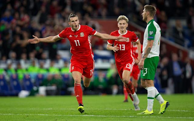 Gareth Bale scored a brilliant goal as Wales blitzed Ireland - Getty Images Europe
