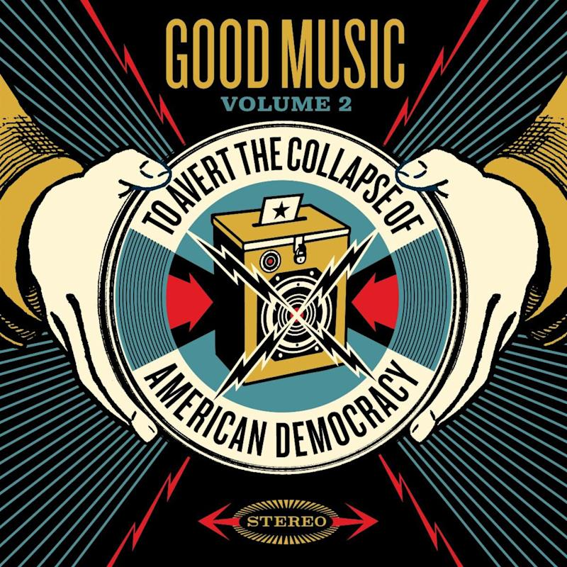 Good Music to Avert the Collapse of American Democracy Vol. 2 Artwork