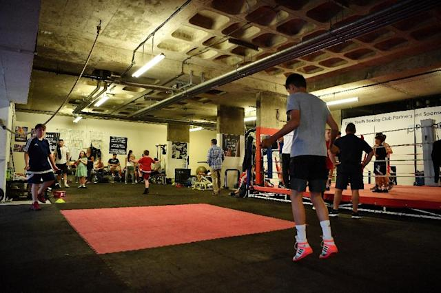 The gym is due to move into new premises later in June (AFP Photo/BEN STANSALL)