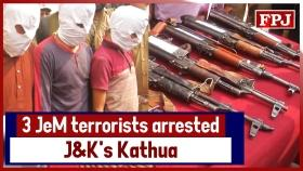 Two JeM overground workers held in south Kashmir on leads provided by arrested terrorists in Kathua