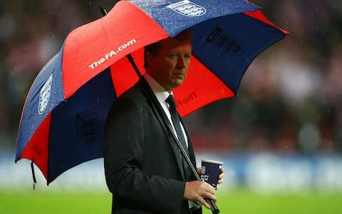 <span>The wally with a brolly</span> <span>Credit: Getty images </span>