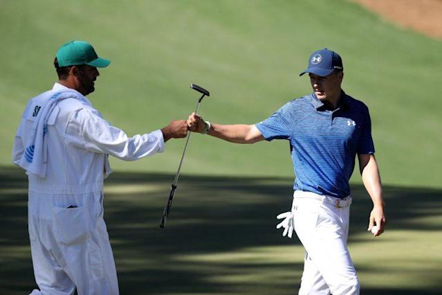 Jordan Spieth has a great chance to win a second Masters. (Getty)