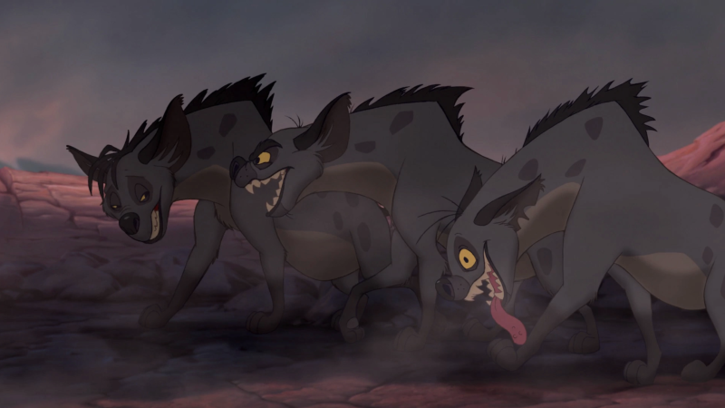 The original hyenas (credit: Disney)
