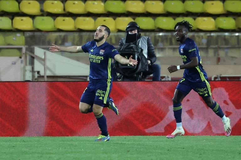 Rayan Cherki's winner for Lyon against Monaco was his first of the Ligue 1 season