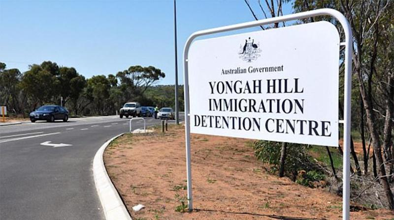 He was expected to be released into his father's custody but instead ended up at the Yongah Hill Immigration Detention Centre in Western Australia. Source: AAP