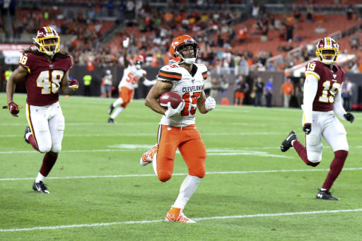 Celebrity Fitness: Lovable long shot: Browns rookie returner chasing NFL dream