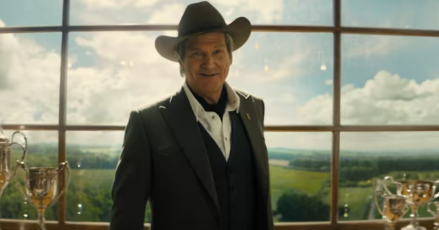 Jeff Bridges in his old Kentucky home for 'Kingsman: the Golden Circle' (Fox)