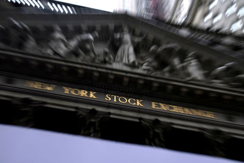 FILE PHOTO: The New York Stock Exchange is pictured