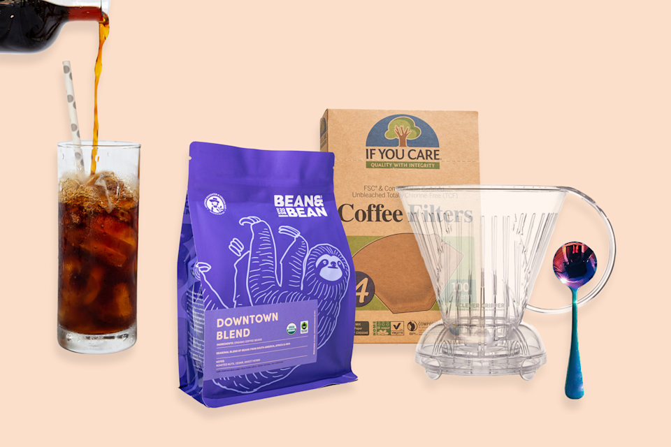 """<p>beannbeancoffee.com</p><p><strong>$54.00</strong></p><p><a href=""""https://go.redirectingat.com?id=74968X1596630&url=https%3A%2F%2Fbeannbeancoffee.com%2Fproducts%2Fcold-brew-diy-kit&sref=https%3A%2F%2Fwww.delish.com%2Fkitchen-tools%2Fg4499%2Fbest-friend-gifts%2F"""" rel=""""nofollow noopener"""" target=""""_blank"""" data-ylk=""""slk:Shop Now"""" class=""""link rapid-noclick-resp"""">Shop Now</a></p><p>Does your bestie drink ice coffee all year long? Help her save some $$$ and get her this cold brew kit.</p>"""