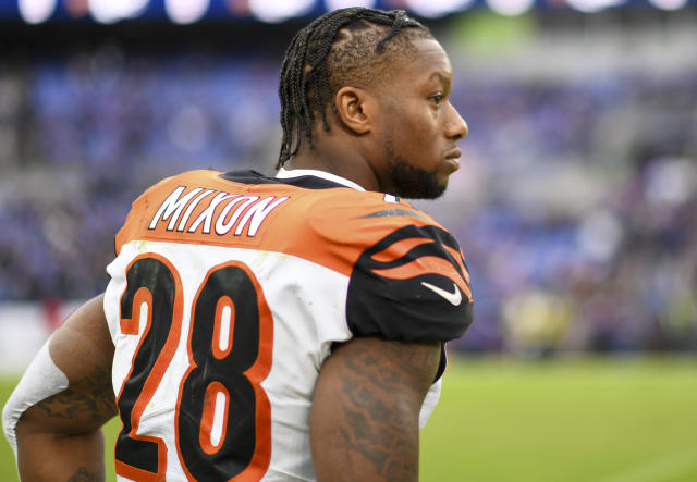 2019 hasn't looked great for Joe Mixon so far. (Photo by Mark Goldman/Icon Sportswire via Getty Images)