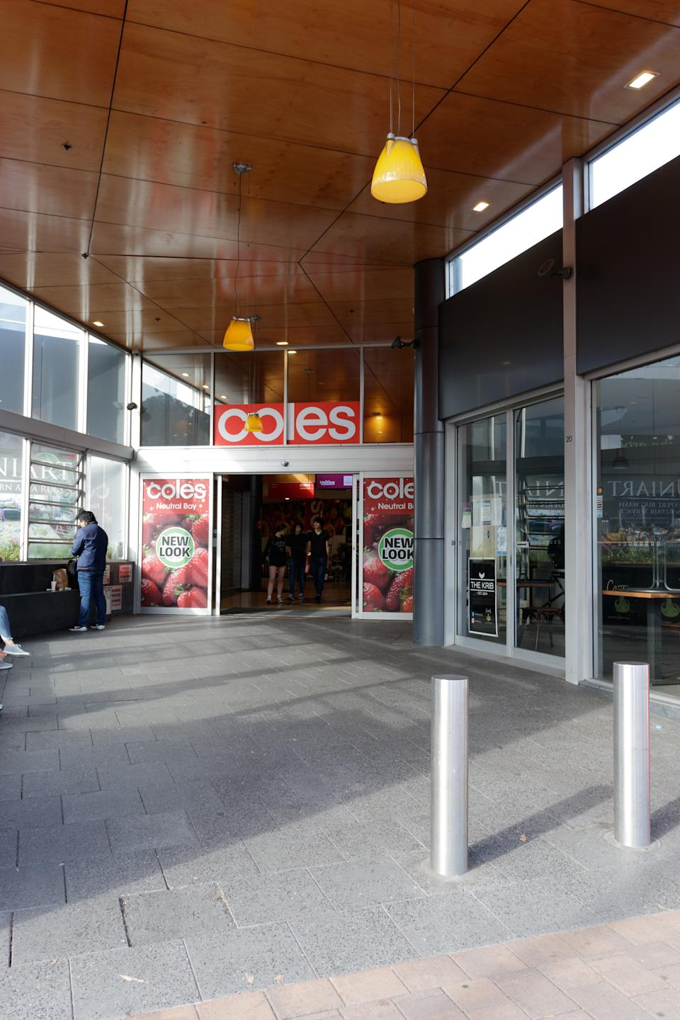 Coles supermarket in Neutral Bay, Sydney's lower north shore. Source: Getty Images