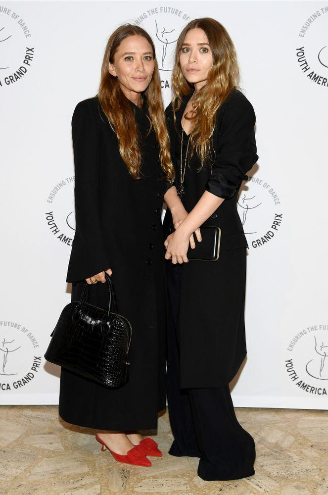 Mary-Kate (left) and Ashley Olsen   Dimitrios Kambouris/Getty Images
