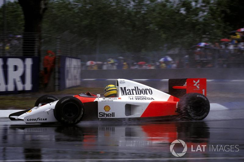 "Ayrton Senna, McLaren MP4/6<span class=""copyright"">Sutton Motorsport Images</span>"