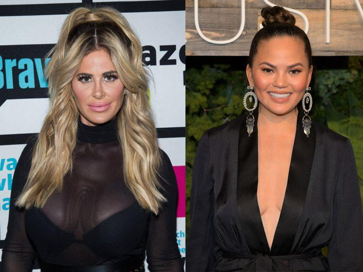Kim Zolciak Biermann Pimps Out Her Daughter for John Legend Tickets, Social Media (and Chrissy Tiegen) Respond