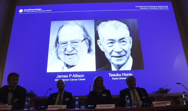 Texas immunologist wins Nobel Prize for groundbreaking cancer treatment