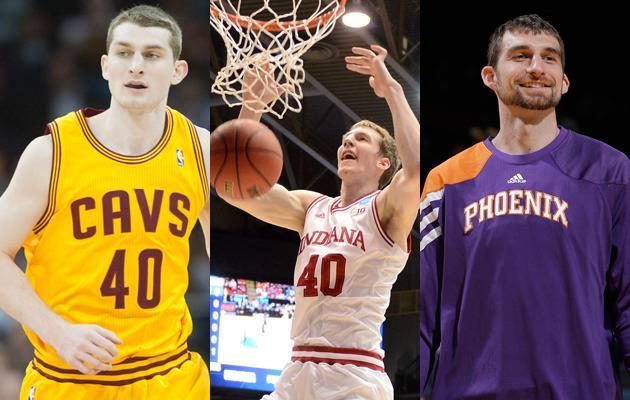 Indiana's Cody Zeller has two older brothers who both play for the NBA. Tyler Zeller pays for the Cleveland Cavaliers and Luke Zeller used to play for the Phoenix Suns.