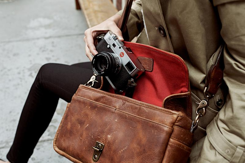 Leica teams with handcrafted bag brand Ona for exclusive line of camera bags